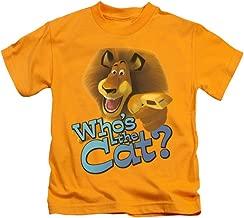 Madagascar DreamWorks Animated Family Movie Alex Who's The Cat? Little Boys Tee