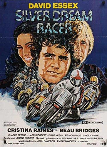 Silver Dream Racer Poster Movie Danish 11 x 17 Inches - 28cm x 44cm David Essex Beau Bridges Cristina Raines Clarke Peters Harry H. Corbett Diane Keen Lee Montague