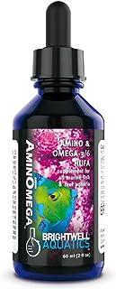 Brightwell Aquatics AminOmega 3/6 HUFA Supplement for all Marine Fish and Reef Aquaria, 60ml
