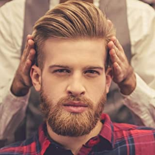 "Rossy&Nancy Men's Toupee 10""x8"" Human Hair Thin Skin Hairpiece Hair Replacement Wigs Mono Lace Net Base for Men #21 Ash Blonde Color (Base Size:10""x8"", 21 Ash Blonde Color)"