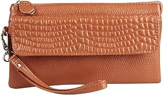 Wiwsi PU Leather Fashion Small Handbag Women Crossbody Bag Wristlet Clutch Purse