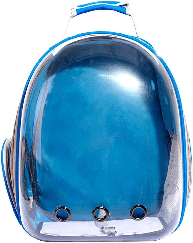 Byx Pet Bag  Pet Backpack Space Capsule with Chest Shoulder Large Space Bag Dog Backpack Out Travel Cat Cage Dog Backpack (color   N)