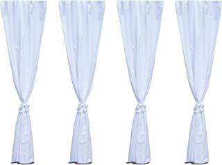 Canopy Leg Drape Accessories - 8 Foot. Canopy Not Included.