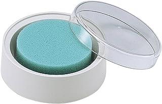 シャチハタ 抗菌剤入り事務用スポンジ 丸型(蓋) MSK-1EC