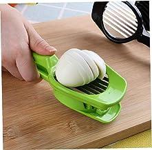 va au lave-vaisselle sans BPA FAVIA Trancheuse /à /œufs durs pour champignons fraise cerise tomate 9 lames en acier inoxydable ustensile de cuisine pratique et polyvalent pour pr/éparation de salade