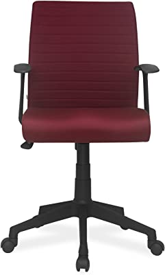 Nilkamal Thames Low-Back Office Chair (Maroon)