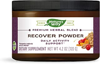 Nature's Way Recover Powder; Premium Herbal Blend; 4.2 Ounces; 30 Servings