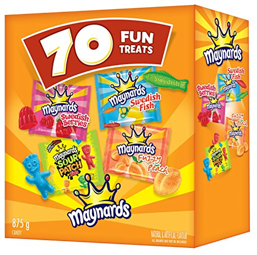 Maynards Assorted Gummy Candy, 70 Count