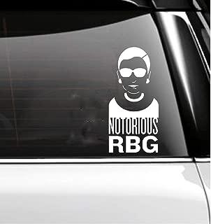 Notorious RBG Decal- Ruth Bader Ginsberg