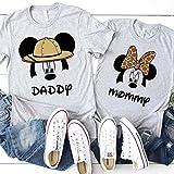 Matching Mickey Minnie Family T-Shirts Animal Kingdom Safari Women Kids Baby Adult Couples Shirts