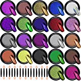 Duufin 22 Colors Nail Powder Metallic Chrome Nail Powders Mirror Effect Nails Manicure Pig...