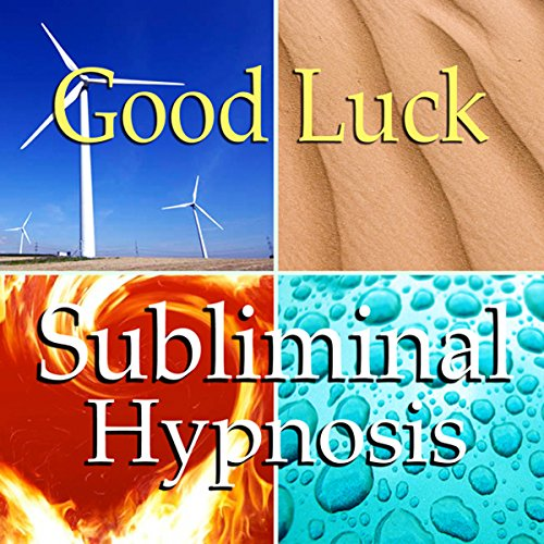 Good Luck Subliminal Affirmations audiobook cover art