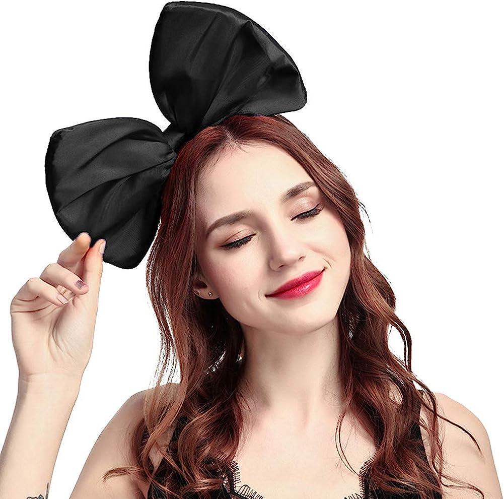 2021 new Mwfus Sweet Women Girls Big Bow Fancy Headband Hair Dr Accessory NEW