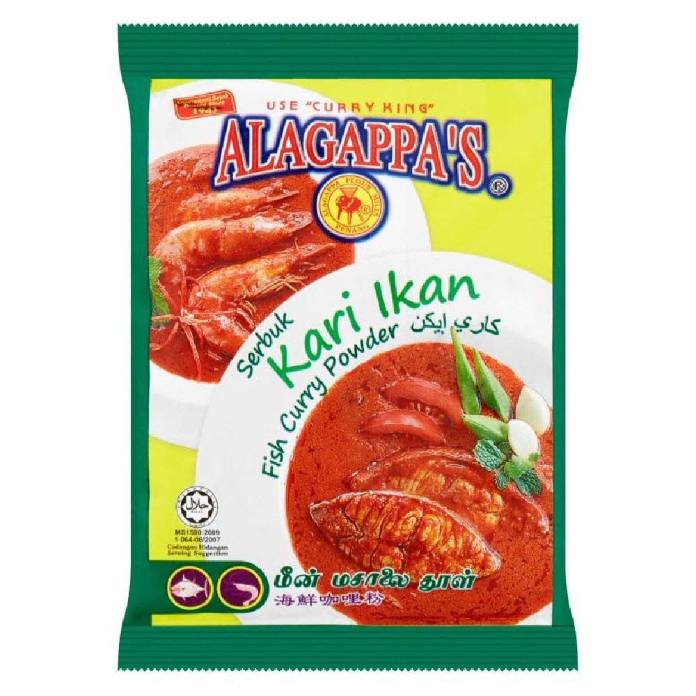 Alagappa's Curry Powder Max 47% OFF 25g Fish 20 628MART Daily bargain sale Packs