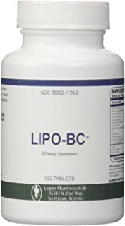 Lipo BC 100 [100 tablets] Lipotrophic Weight Loss Supplement