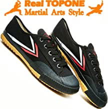 Kung Fu Martial Arts Parkour Shoes,Rubber Sole Sneakers