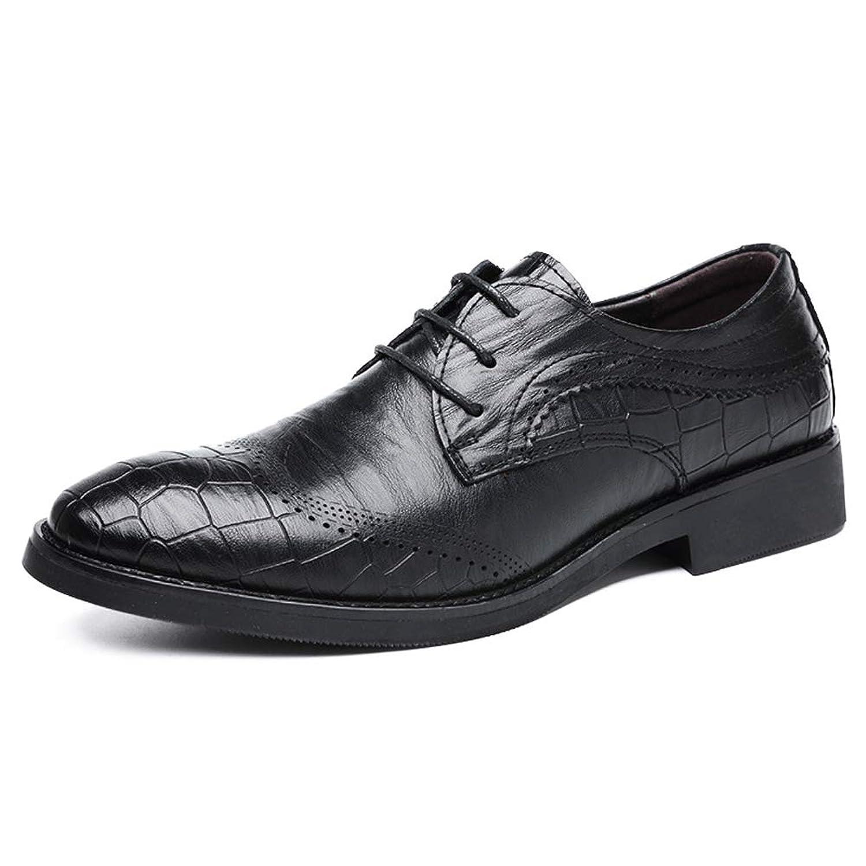 [aemax] 革靴 ウイングチップ メンズ ビジネスシューズ 紳士靴 カジュアルシューズ メンズシューズ オールシーズン 軽量 クッション性 就活 通勤