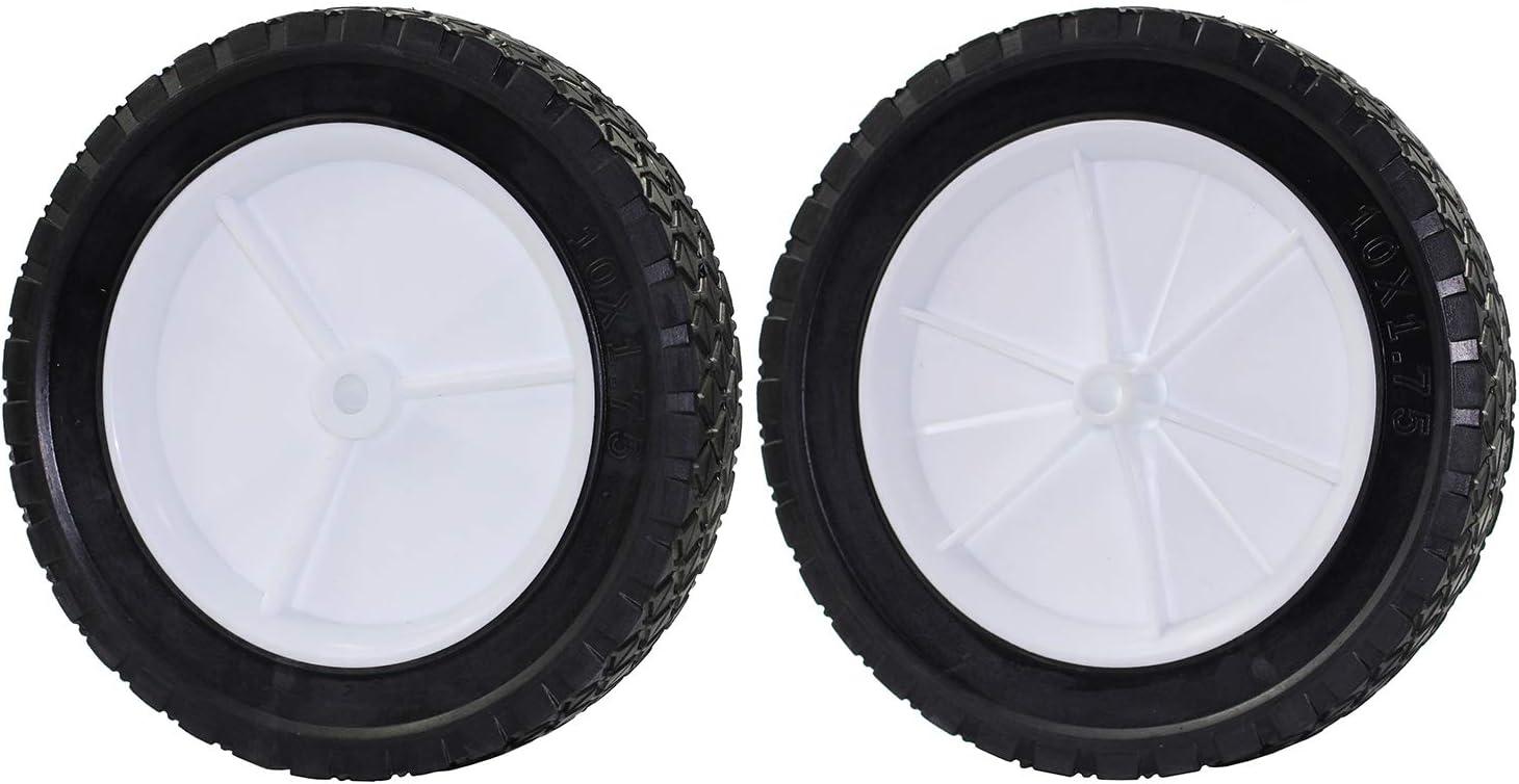 Antanker Lawnmower 10 Inch Wheel Replaces Oregon 72-110 Hand Trucks Utility Carts 10x175 Wheel