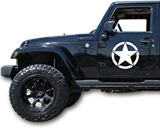 Best jeep army star decal Reviews