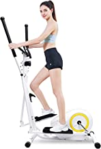 Doufit Elliptical Machine for Home Use, Eliptical Exercise Machine for Indoor Fitness Gym Workout, Adjustable Magnetic Ell...