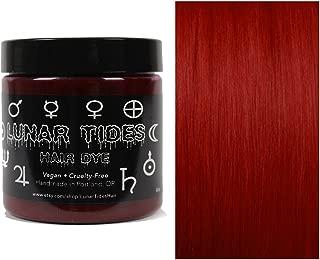 Lunar Tides Hair Dye - Blood Moon Dark Red Semi-Permanent Vegan Hair Color (4 fl oz / 118 ml)