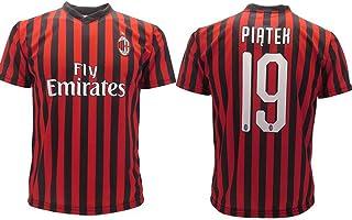 641330d40be15d Maglia Piatek Milan Ufficiale 2019 2020 AC Adulto Bambino Krzysztof Numero  19