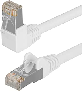 HB DIGITAL Cable de red LAN Cable Cabel 90 ° ángulo conector ...