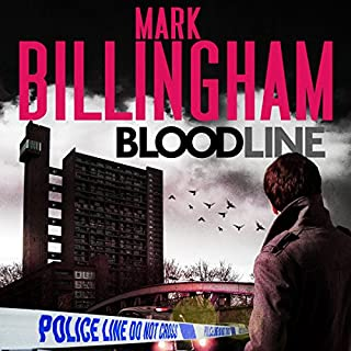 Bloodline     Tom Thorne, Book 8              By:                                                                                                                                 Mark Billingham                               Narrated by:                                                                                                                                 Mark Billingham                      Length: 9 hrs and 35 mins     4 ratings     Overall 4.5