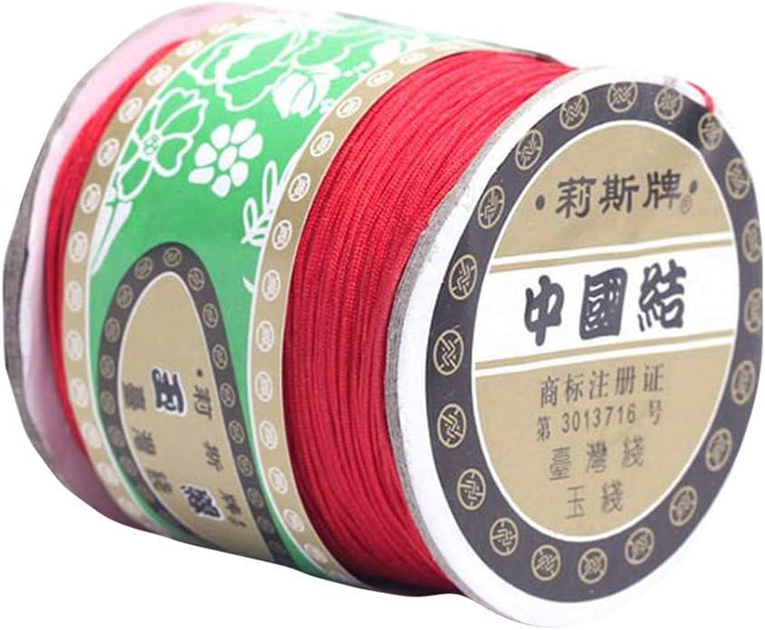 Bigood 135m 0.8mm Chinese Knot Necklace Nylon Shamballa Braided San Diego Mall Over item handling ☆