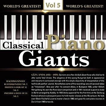Piano Giants, Vol. 5