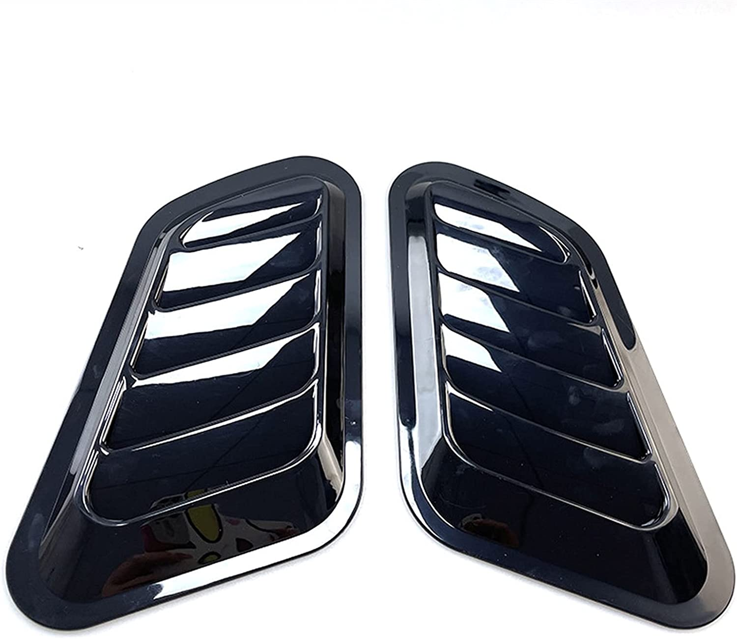 QUXING Car Exterior Louver Intake Cover ABS Price reduction Scoops NEW before selling Vent 2PCS