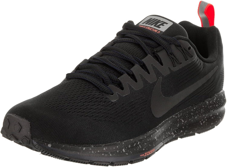 Nike Air Zoom Structure 21 Shield Shield Shield - Damen Laufschuhe Running Schuhe - 907323-001  7f7159