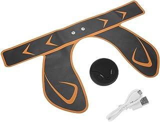 Hip Trainer, EMS Hip Trainer Dispositivo inteligente de masaje de elevación de glúteos Masajeador de estimulación muscular de la cadera(Amarillo)