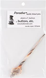 Paradise Exotic Shawl Pin SP30101 Shell Shawl Stick