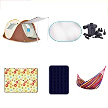 Outdoor Waterproof Tent Automatic 3-4 People Camping Equipment Comfortable Thickening Tent Package