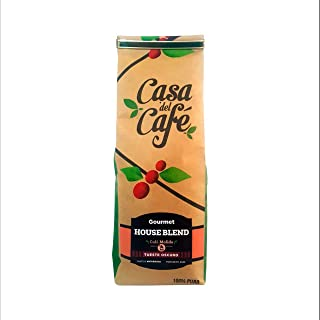 Casa del Cafe Ground House Blend Dark Roast Coffee, 16 Ounce Bag - from Nicaragua