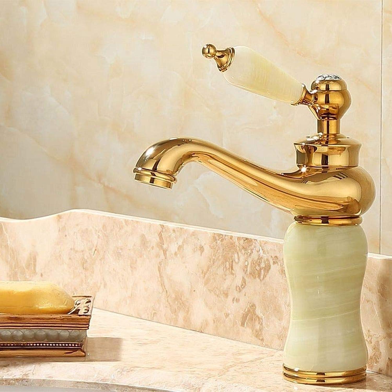 Rmckuva Waschtischarmaturen Becken Wasserhahn Moderne Einhebel Wasserhahn Messing Mischer Gebogen Mund Jade Wasserhahn Cyan -05