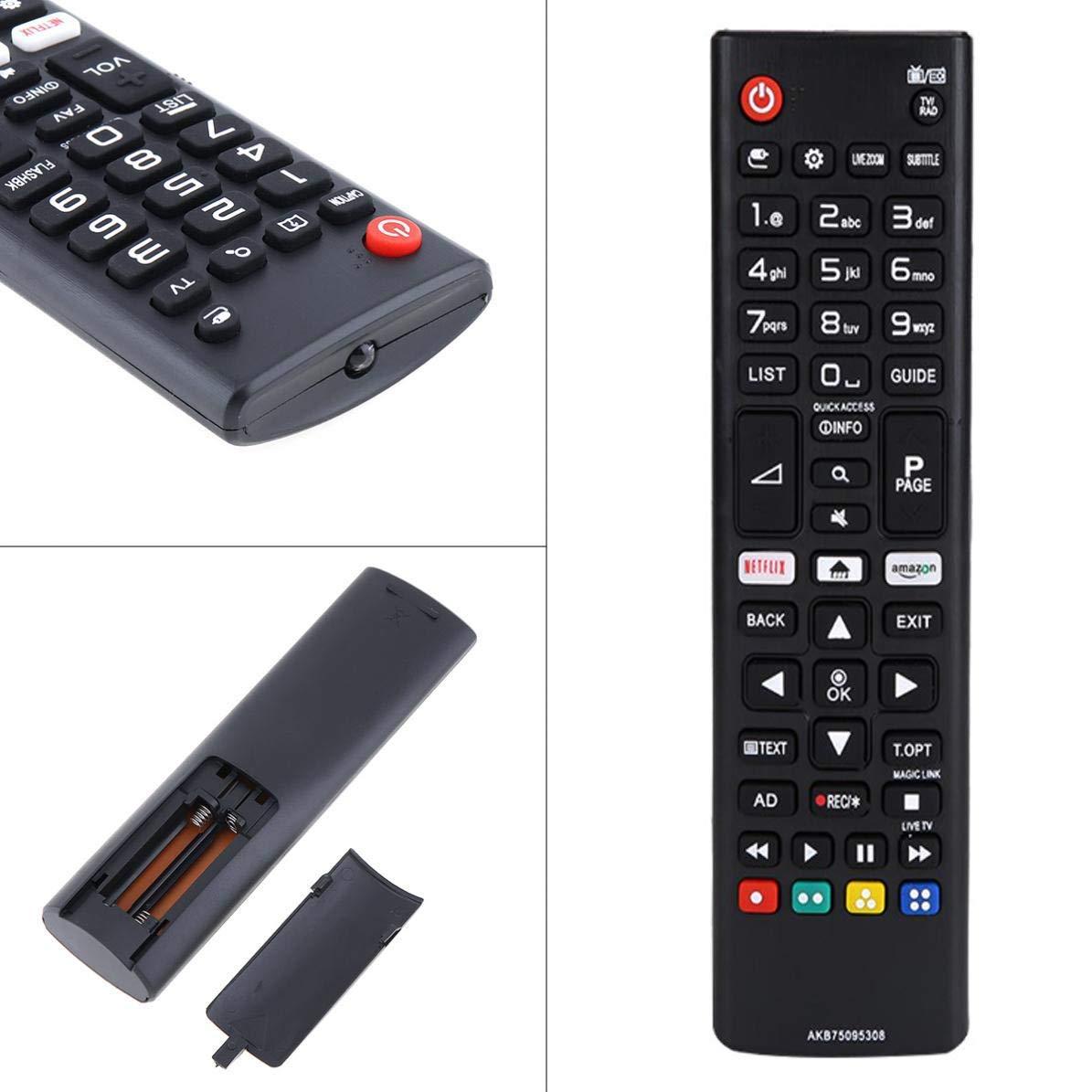 Reemplazo AKB75095308 Mando para LG Smart TV: Amazon.es: Electrónica