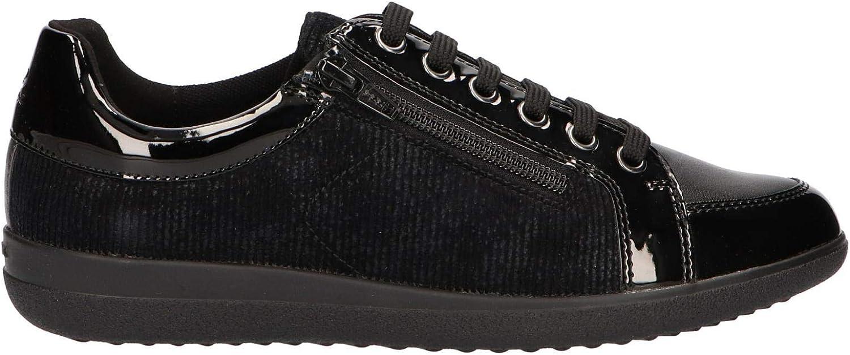 Geox Halbschuhe  Derby-Schuhe, Farbe Schwarz, Schwarz, Marke, Modell Halbschuhe  Derby-Schuhe D NIHAL A Schwarz  befasst sich mit Verkauf