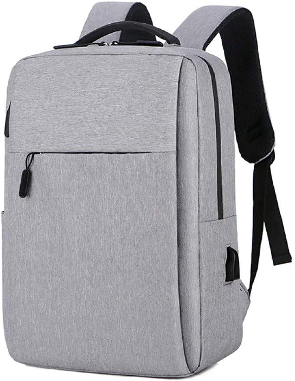 HUYANNABAO Men's Fashion Oxford Backpack 15 Inch Laptop Backpack USB Charging Travel Backpack School Bags Bagpack Back Pack for Men