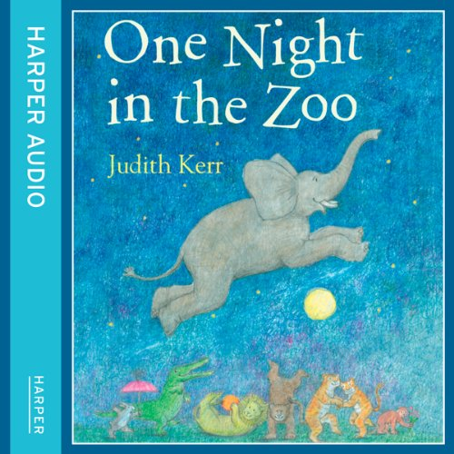 One Night in the Zoo audiobook cover art
