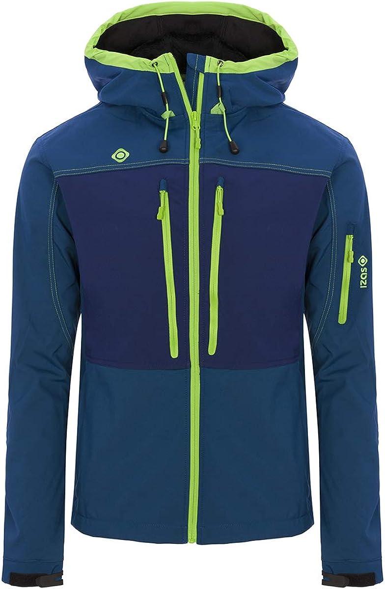 Izas Konka Men's Fixed price for sale Hooded Jacket waterproof Windproof Softshell Excellent