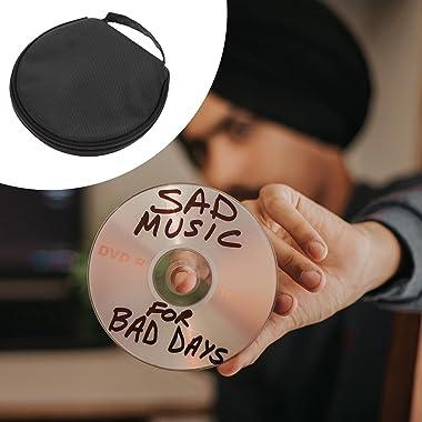 Milisten CD Case CD Wallet 20 Capacité CD Titulaire Film CD De Stockage De Voiture DVD Organisateur Cas De Stockage de Disque