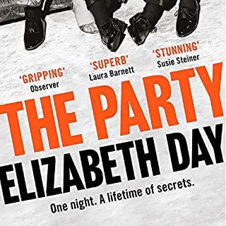 The Party                   By:                                                                                                                                 Elizabeth Day                               Narrated by:                                                                                                                                 Greg Wagland,                                                                                        Stephanie Racine                      Length: 10 hrs and 45 mins     18 ratings     Overall 3.7