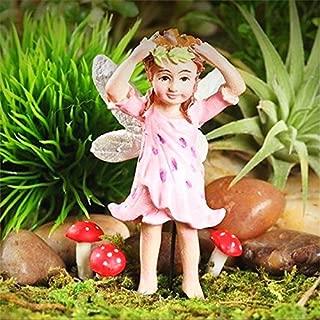 Fairy Garden Miniature Tiger Lily Fairy Anastasia Dollhouse Figurine - My Mini Fairy Garden Dollhouse Accessories for Outdoor or House Decor