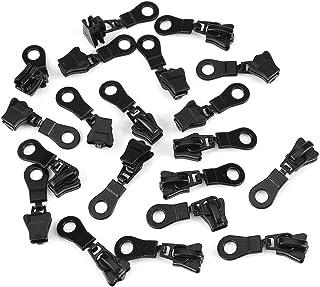 Zipper Repair Kit Zipper Replacement Pack Zipper Fixer Instant(Black)