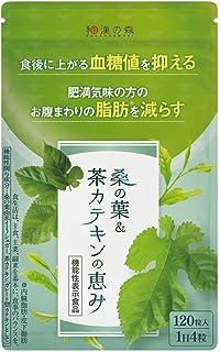 [Amazon限定ブランド] 漢方セレクト 桑の葉 茶カテキン 機能性表示食品 120粒 9種類の和漢 お腹の脂肪を減らす 血糖値 内臓脂肪 サプリ
