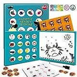 VATOS Match - Juego de Mesa, Juguete de Memoria magnética 3 en 1 con Tablero de Dibujo, Juguetes educativos, Imagen de Mesa, Juegos a Juego, Regalos para niños de 3 4 5 6 7 años, niños y niñas
