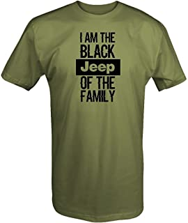 Black Jeep of The Family T Shirt