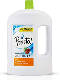Amazon Brand - Presto! Disinfectant Floor Cleaner Pine, 2 L